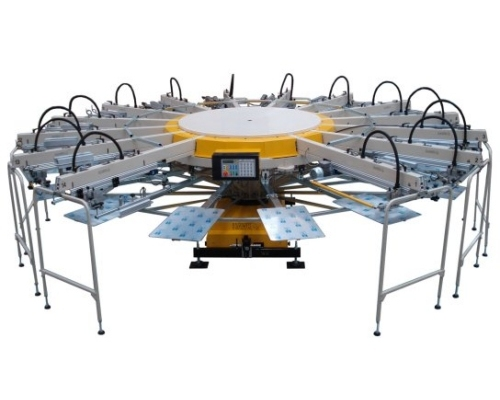 Hawk HX Series Screen Printing Machine
